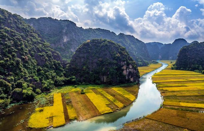 Phong cảnh Ninh Bình được Tổng thống Mỹ dành lời khen tặng. Ảnh: Anh Nguyen