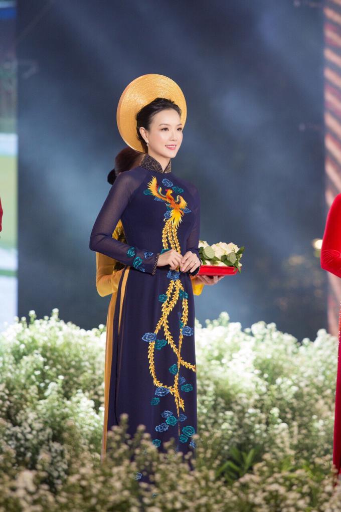 Đại sứ Lễ Hội Áo Dài 2019 Doanh nhân Trang Phương gây chú ý với vẻ đẹp thuần khiết - 4