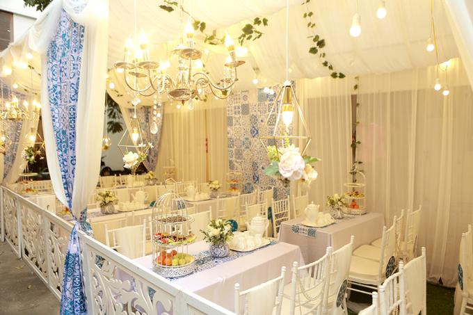 Lễ thành hôn concept gạch hoa của MC Dương Sơn Lâm