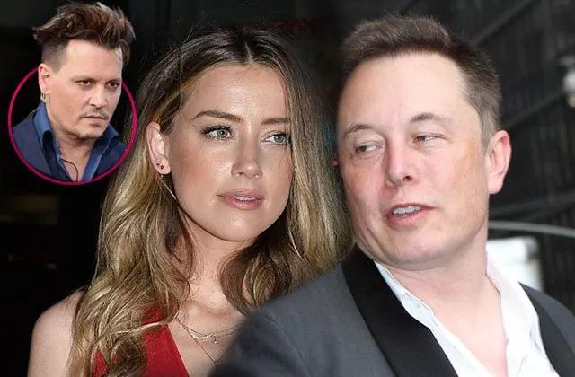 Johnny Depp cho rằng vợ cũ đã tằng tịu với Elon Musk.