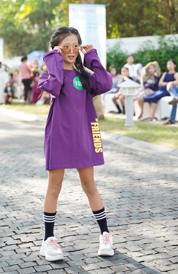 Các model nhí ở khu vực miền Trung có phong cách mix-match trang phục rất ấn tượng, sành điệu.