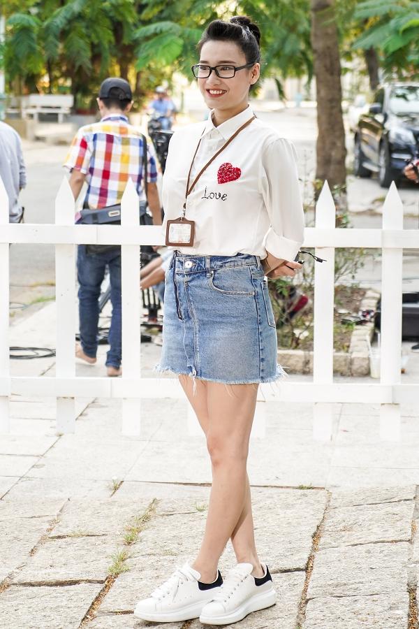 Nhã Phương tham gia ghi hình một dự án quảng cáo mà vợ chồng cô làm gương mặtmặt đại diện.