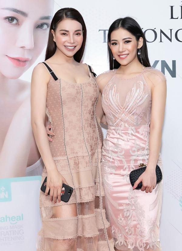 [Caption] Chiều nay (04/03/2019) tại Le Royal Saigon (TPHCM), Trà Ngọc Hằng đã chính thức có buổi ra mắt và giới thiệu thương hiệu dược mỹ phẩm nổi tiếng của Hàn Quốc mà cô đích thân mang về Việt Nam – YN Medical Cosmetics.