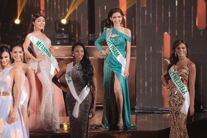 Đỗ Nhật Hà bị chê mặc sến ở bán kết Hoa hậu Chuyển giới Quốc tế