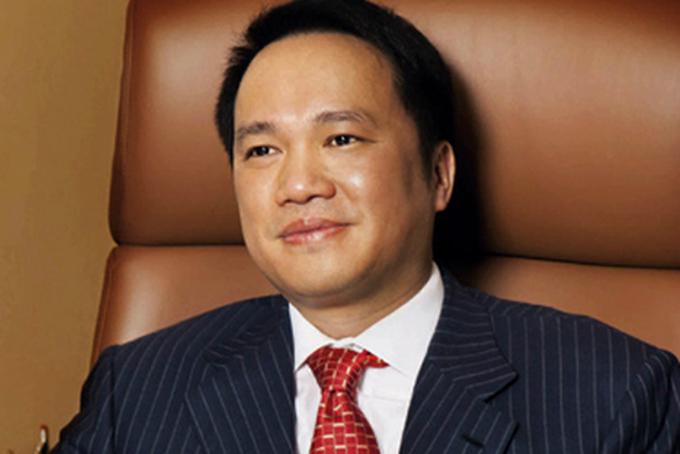 Chủ tịch Techcombacnk Hồ Hùng Anh. Ảnh: Forbes.