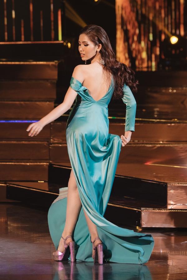 Đỗ Nhật Hà bị chê mặc sến ở bán kết Hoa hậu Chuyển giới Quốc tế - 3