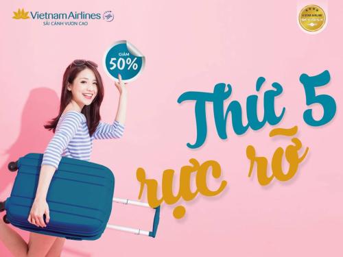 Vietnam Airlines mở bán vé máy bay giá rẻ từ 222.000 đồng một chiều