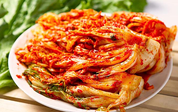 Món kim chi được phái đoàn Triều Tiên yêu thích nhất trong những ngày ở khách sạn.
