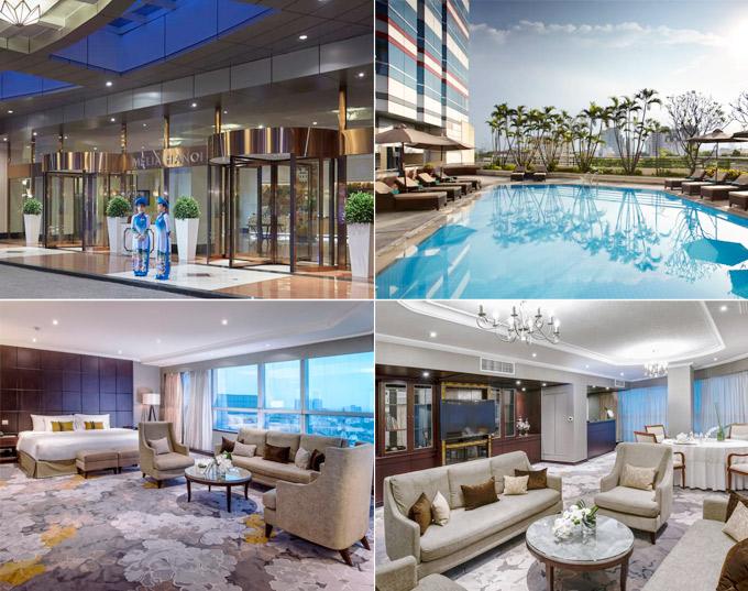 Khách sạn Melia Hà Nội có kinh nghiệm 20 năm đón các khách VIP,nguyên thủ quốc gia... Ảnh: Melia Hanoi