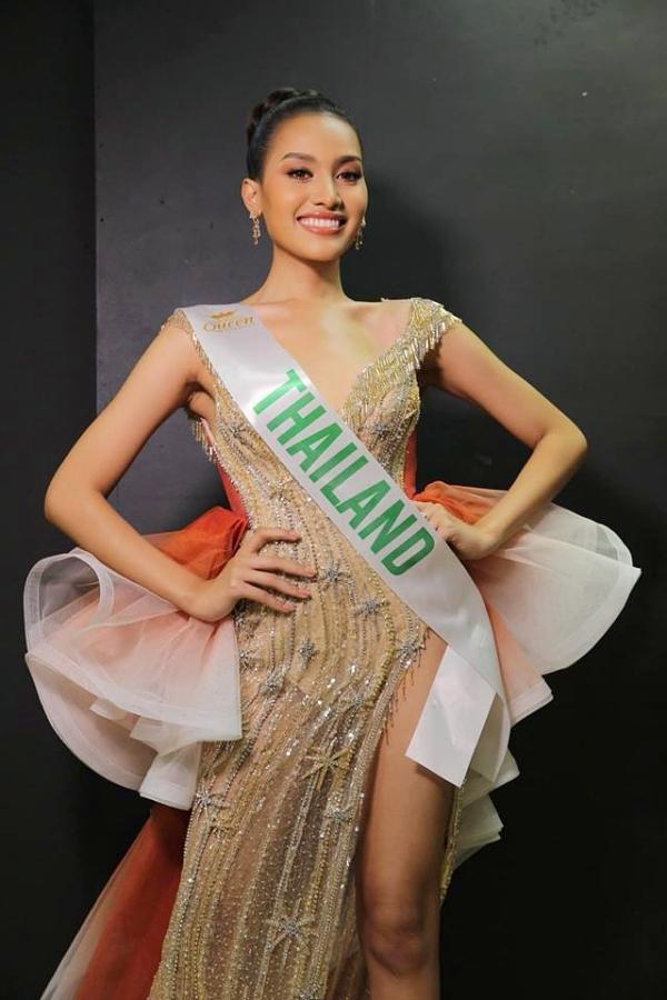 Người đẹp Thái Lan được đánh giá cao cho chiếc vương miện năm nay. Trong