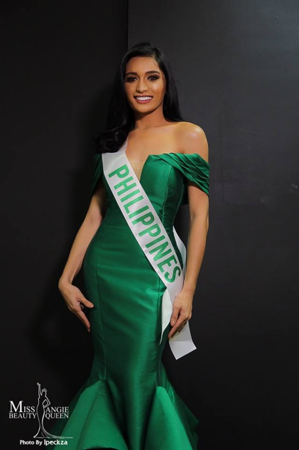 Nicole Guevarra Flores là đại diện Philippines và được dự đoán tiến xa với lợi thế nhan sắc.