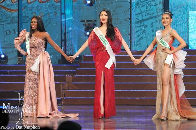 Top 3 cuộc thi gồm: Mỹ, Trung Quốc và Thái Lan.
