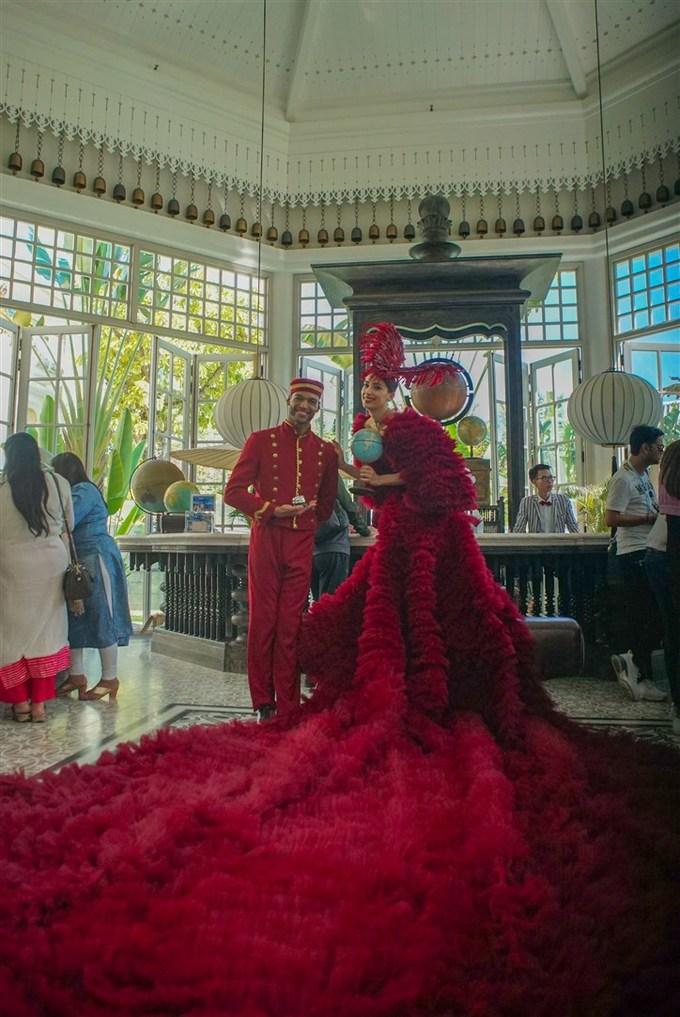 Những hình ảnh đầu tiên về đám cưới của đại gia Ấn Độ tại Phú Quốc