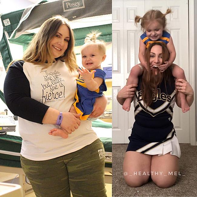 Melissa từng nặng đến 112 kg và luôn tự ti về thân hình ục ịch, quá khổ của mình.