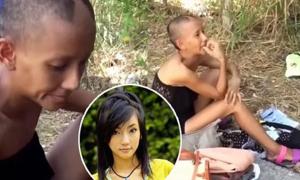 Mỹ nhân Thái Lan tàn tạ, đi ăn mày sau tai nạn xe hơi