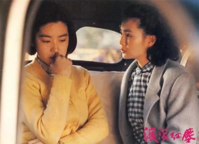 Nhan sắc Lâm Thanh Hà (trái)trên màn ảnh.