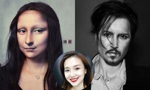 Nữ nghệ sĩ Trung Quốc hóa trang thành người nổi tiếng giống đến xuất thần