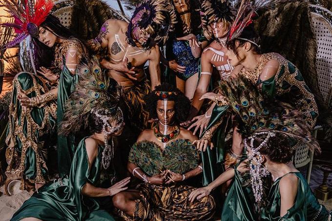 Tiệc cưới thứ 2 phong cách thổ dân của tỷ phú Ấn Độ ở Phú Quốc - 4