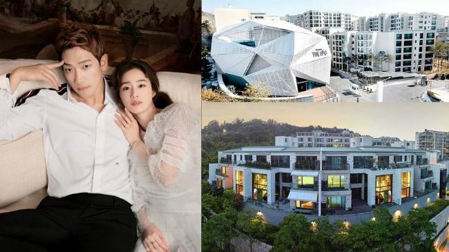 Kim Tae Hee và Rain tậu nhà triệu đô.
