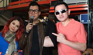 Chồng Việt kiều xem Thanh Thảo tập nhạc với tình cũ Quang Dũng