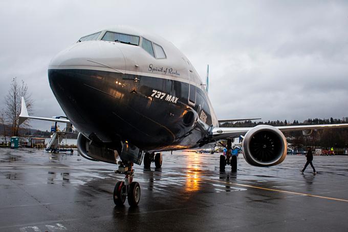 737 MAX là bản nâng cấp của dòng Boeing 737 ra đời năm 1967. Ảnh:Bloomberg.