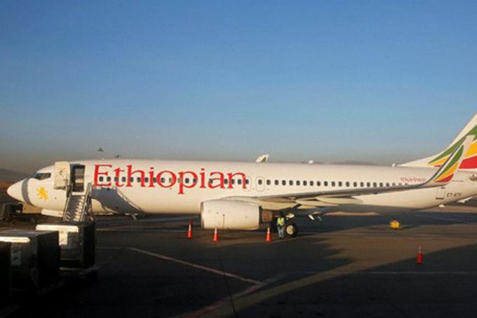 Một máy bay của hãng hàng không Ethiopian Airlines. Ảnh:Reuters.