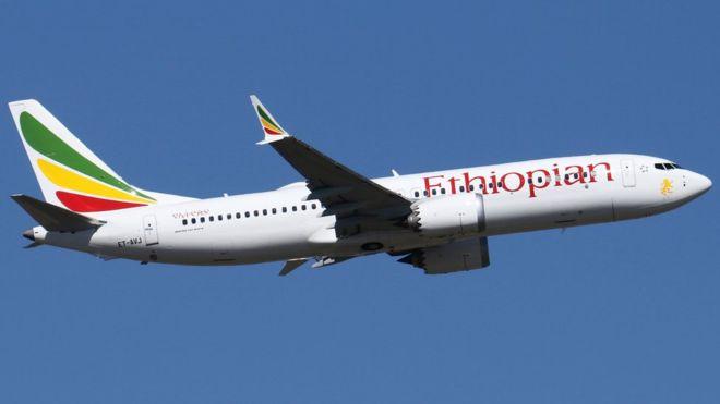 Một máy bay của hãng hàng không Ethiopian. Ảnh: BBC.