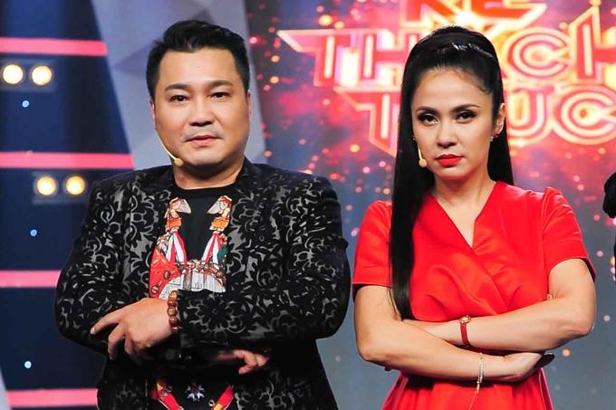Diễn viên Lý Hùng - Việt Trinh trong tập 12 Kẻ thách thức.