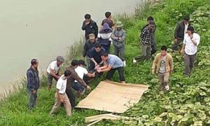 Nam thanh niên nghi nhảy cầu, thi thể nổi trên sông Chu