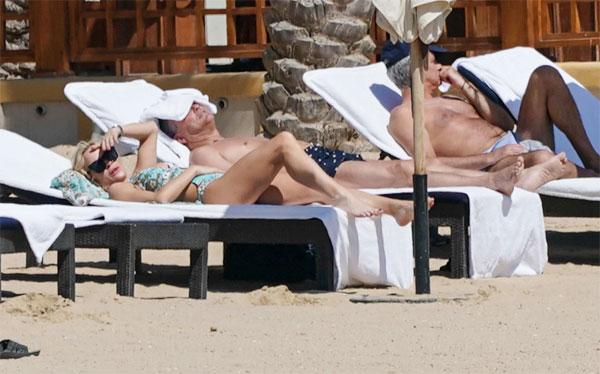 Cả Mourinho và người bạn gái đặc biệt đều tỏ ra cẩn trọng trong kỳ nghỉ.