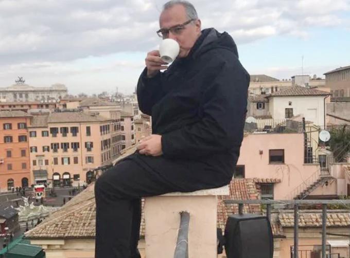 Marvropoulos Antoniosm, chủ tịch Hiệp hội chất thải rắn quốc tế, hành khách duy nhất của chuyến bay ET 302 của Ethiopia thoát chết sáng 10.3 Ảnh: Facebook.