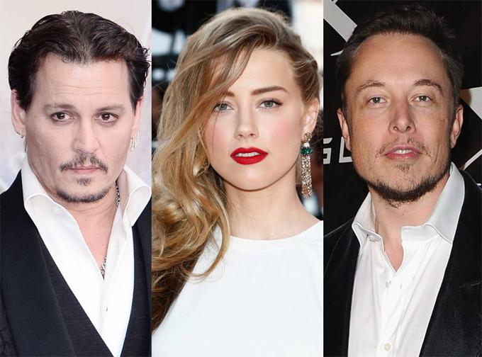 Sau cuộc tình đồng giới, Amber cưới Johnny Depp và hẹn hò Elon Musk.
