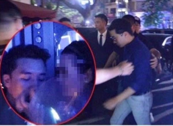 Seungri từng sang Việt Nam và bị bắt gặp hút bóng cười.