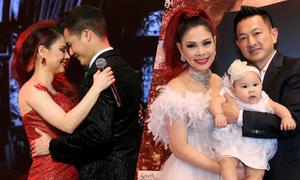 Chồng Việt kiều bế con gái tới xem liveshow Thanh Thảo ở Mỹ