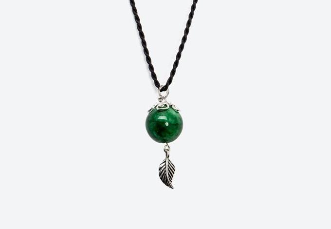 Mặt dây chuyền đá cẩm thạchphong thuỷ có giá 263.00 đồng.