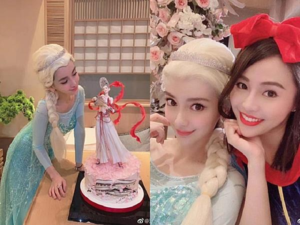 Angelababy đón sinh nhật thiếu vắng Huỳnh Hiểu Minh.
