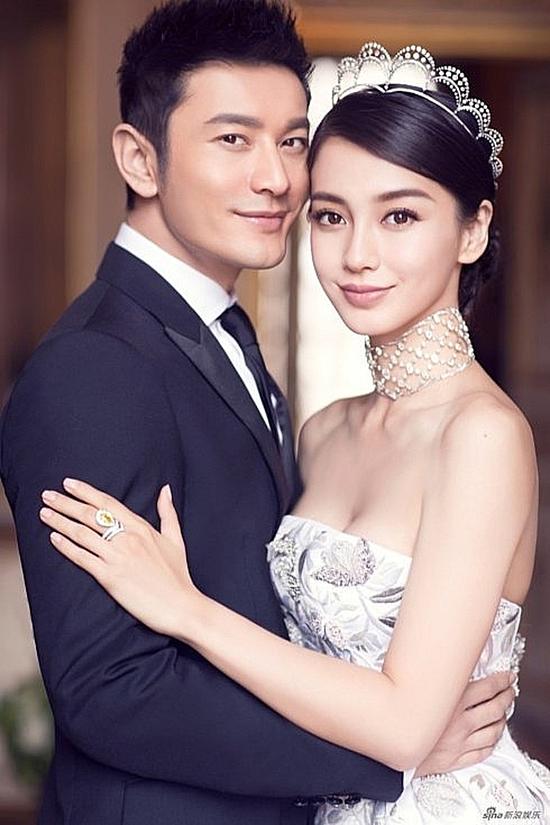Huỳnh Hiểu Minh và Angelababy.