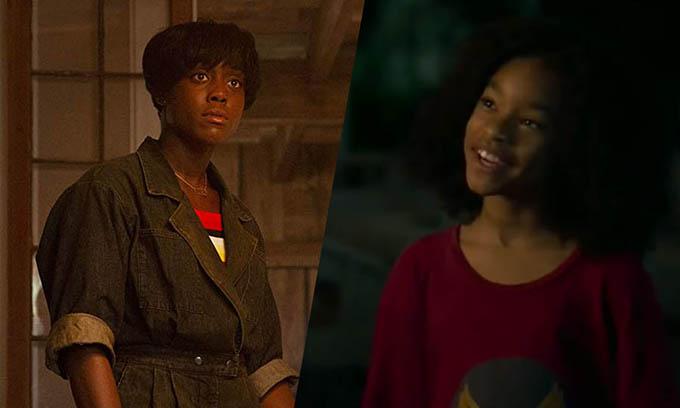 Bà mẹ đơn thân Maria (trái) và cô con gái Monica được yêu thích trong phim.
