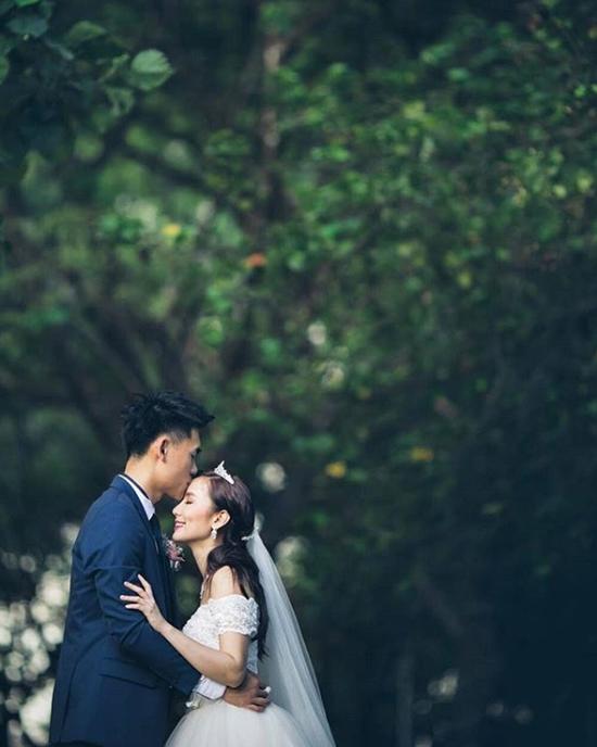 Ảnh cưới của hai người được hé lộ.