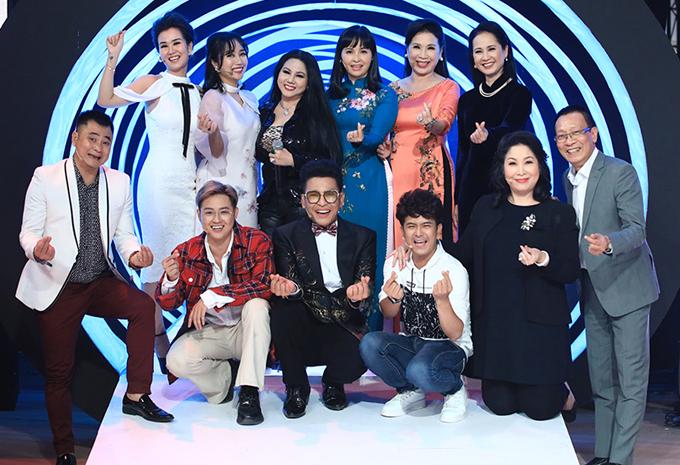 Các nghệ sĩ tham gia tập 10 show Ký ức vui vẻ.