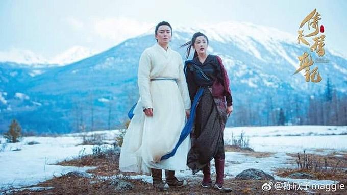 Trương Thúy Sơn và Ân Tố Tố - cha mẹ của Trương Vô Kỵ sống trên đảo băng khoảng 6, 7 năm. Có điều gì vô lý trong hình ảnh của họ?