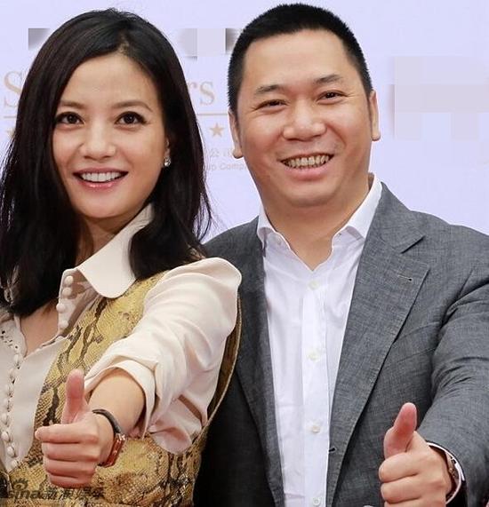Triệu Vy và Huỳnh Hữu Long.