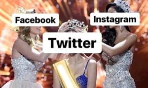 Facebook sập trở thành chủ đề chê cười