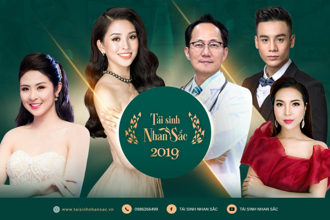 Dàn khách mời nổi tiếng của Tái sinh nhan sắc 2019