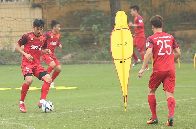 HLV Park tất bật rèn quân U23 Việt Nam