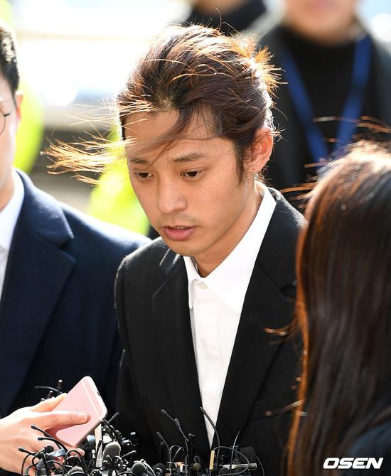 Sáng nay Jung Joon Young tới sở cảnh sát Seoul Metropolitan Police Department, Jongno-gu, Seoul