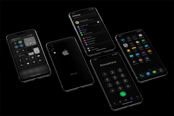 Ý tưởng iPhone 11 chạy chế độ tối - 6