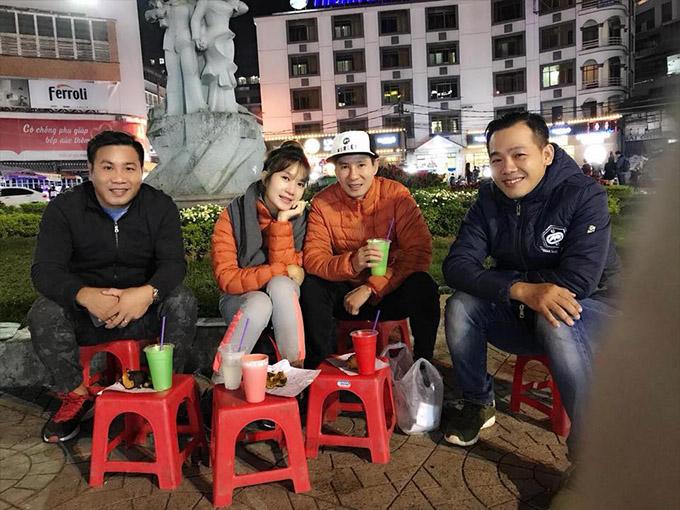 Lý Hải - Minh Hà cùng các đồng nghiệp dạo chơi và khảo sát Đà Lạt trước khi phim bấm máy.