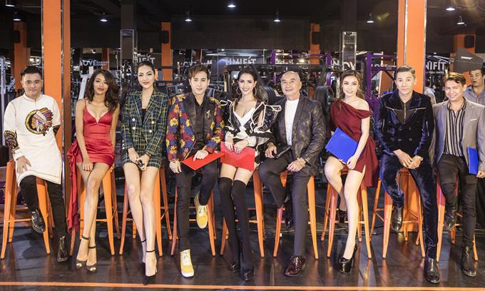 Ngoài Phan Thị Mơ và Diệu Ngọc, thành phần ban giám khảo còn có nhiều gương mặt quen thuộc như người mẫu Nam Phong, đạo diễn Tạ Nguyên Phúc, nhà thiết kế Nhật Dũng...