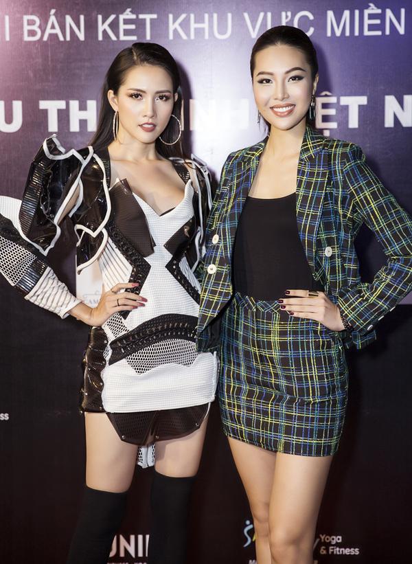 Hoa hậu Đại sứ Du lịch Thế giới 2018 đọ sắc với Hoa khôi Áo dài Diệu Ngọc.